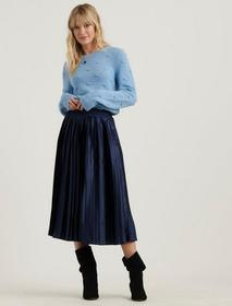 Lucky Brand Pleated Brooklyn Skirt