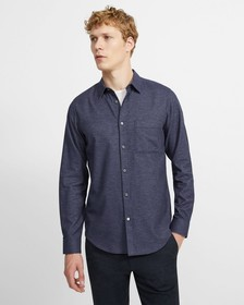 Cotton Sateen Irving Shirt