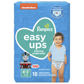 Pampers Easy Ups Training Underwear Boys 4T-5T