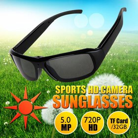 Excelvan HD Polarized Sunglasses Mini Camera Digit
