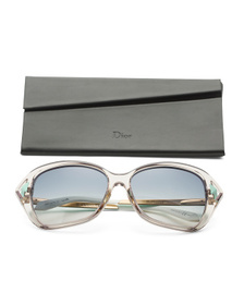 DIOR Made In Italy 56mm Designer Sunglasses