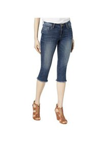 Kut From The Kloth Womens Petites Natalie Frayed H