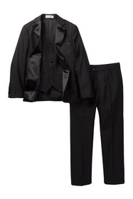 Isaac Mizrahi 3 Piece Notch Lapel Tuxedo (Toddler