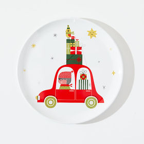 Crate Barrel NewChristmas Whimsy Melamine Holiday
