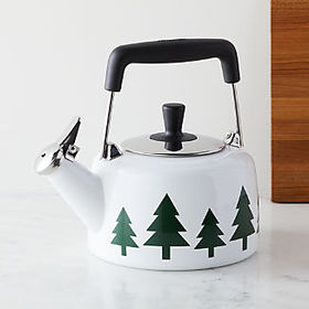 Crate Barrel NewChantal Holiday Tree Kettle