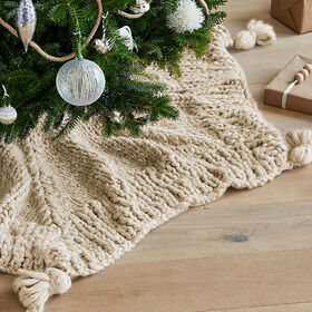 Crate Barrel Dante Tree Skirt