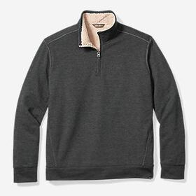 Men's Sherpa-Lined Camp Fleece 1/4-Zip