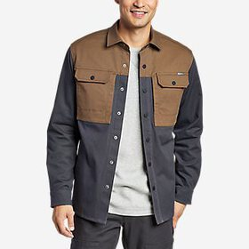 Men's Compressor Canvas Shirt Jacket