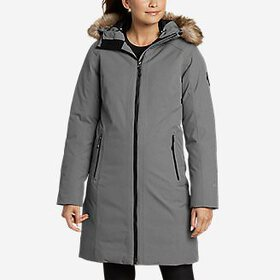 Women's Olympia Waterproof Down Stadium Coat