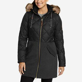 Women's Lanely Hybrid Down Parka