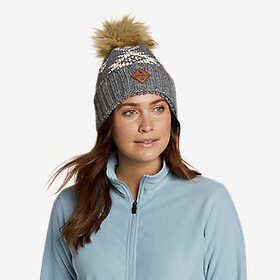 Women's Pacific Ridge Pom Beanie