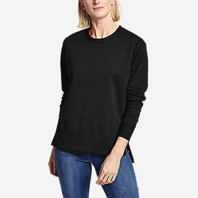 Women's Soft Step Hem Sweatshirt