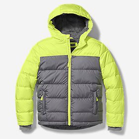Boys' Classic Down Hooded Jacket