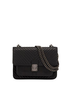KC Jagger Quilted Flap-Top Crossbody Bag