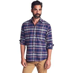 Faherty Stretch Seaview Flannel Shirt - Men's