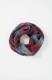 Shimmering Ombré Infinity Scarf
