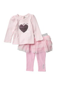 Juicy Couture Top & Skegging Set (Baby Girls)
