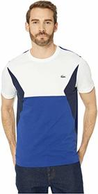 Lacoste Short Sleeve Color Block Cotton Tee