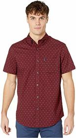 Ben Sherman Short Sleeve Multi Spot Stripe Print S