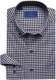 David Donahue Casual Fit Button Down Collar Long S