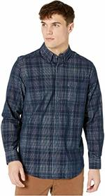 Ben Sherman Long Sleeve Cord Plaid Shirt