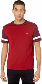 "Lacoste Short Sleeve Jersey ""Color Block"" T-Shirt"