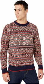 J.Crew Fair Isle Lambswool Crewneck with Jacquard