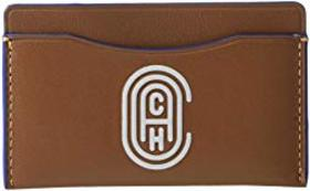 COACH Small Card Case In Refined Calf