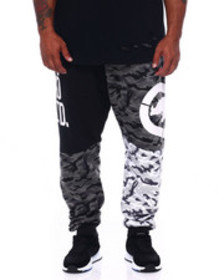 Ecko patch work jogger (b&t)