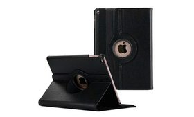 Leather Case, 360 Degree Rotating Stand Cover for