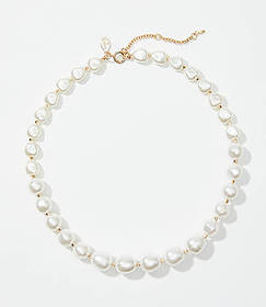 Modern Pearlized Necklace