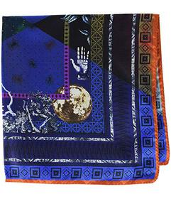 Etro Alchemy Print Pocket Square