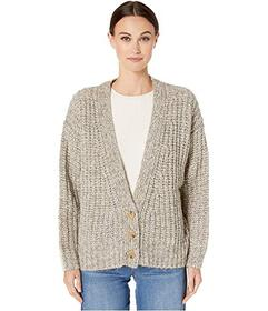 See by Chloe Heavy Knit Button-Up Cardigan