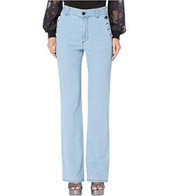 See by Chloe Pocket Detail Jeans in Poetic Blue