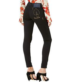 Vivienne Westwood High-Waist Slim Jeans in Black