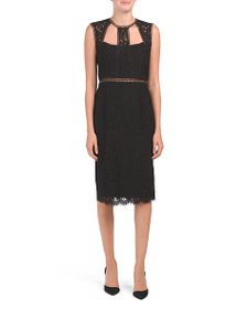 BARDOT Splice Panel Dress