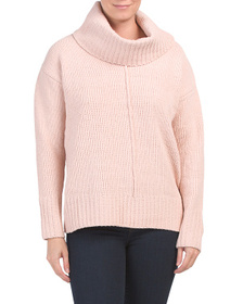JONES NEW YORK SIGNATURE Chenille Cowl Neck Sweate