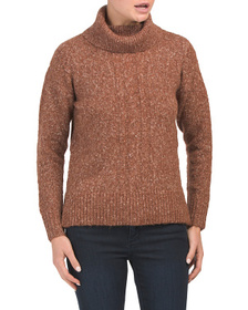 JONES NEW YORK SIGNATURE Cable Tunic Sweater