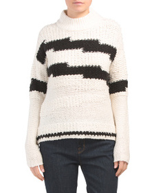 1.STATE Multi Texture Sweater