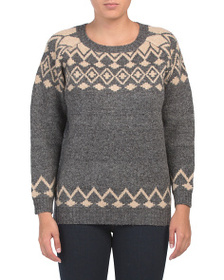 SOLITAIRE Fairisle Sweater