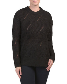 RXB Cable Knit Sweater
