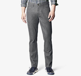Johnston Murphy Slim Fit Brushed Heather Pants