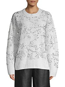 French Connection Rosemary Sequin Knit Sweater WIN
