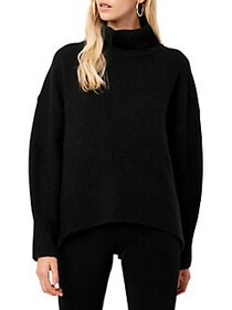 French Connection Nina Knit Sweater BLACK