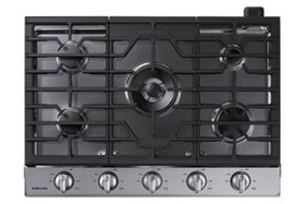 """Samsung - 30"""" Built-In Gas Cooktop - Stainless ste"""