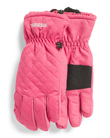 ROSSIGNOL Quilted Back Water Resistant Gloves