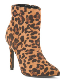 CHARLES BY CHARLES DAVID Leopard Printed Boots