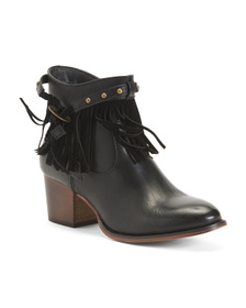 WANTED Fringe Western Booties