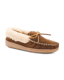 MINNETONKA Men's Suede Trapper Shoes