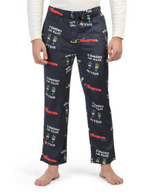 FLEECE NAVIDAD Gnomies Fleece Pajama Pants